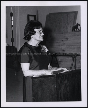 Dorothy Livesay reading in 1967